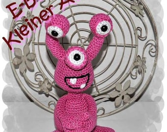 Chrochet Pattern - Tutorial - Alien or Monster