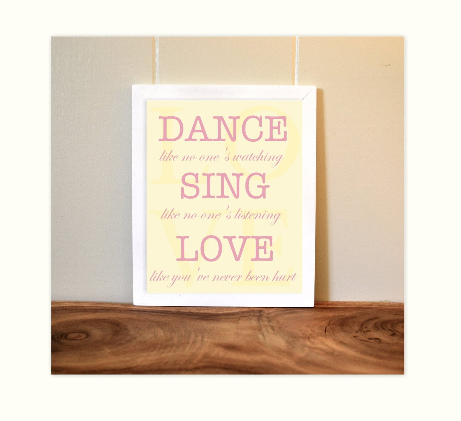 Image Result For Custom Wood Wall Art Quotes