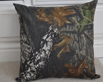 Mossy oak Pillow Cover- 18x18 inches- Hidden Zipper
