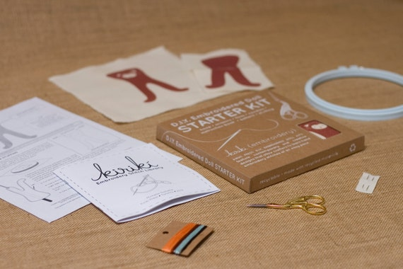 Starter Kit - DIY Embroidery Kit