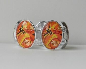 Orange Opulence Bracelet