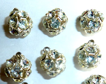 Vintage Rhinestone Balls