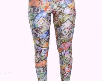Money Spandex Leggings