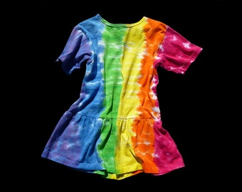 Girls Tie-Dye Dress- Youth 5/6