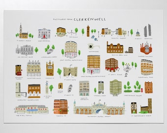 Postcards from Clerkenwell