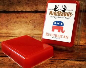 Republican Scented Soap 3 oz. Bar