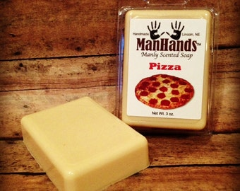 Pizza Scented Soap 3 oz. Bar