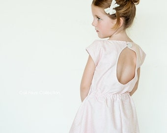 The Wednesday Dress PDF pattern and tutorial - sizes 12M - 10, childrens sewing PATTERN - Instant download