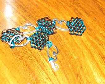 Dragon's Treasure Bracelet With Hearts