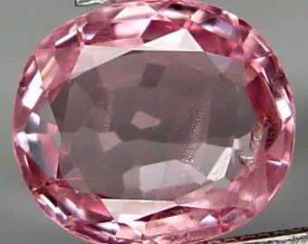 2.27 carat Sparkling Natural Pink Spinel from Tanzania