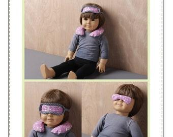 Pixie Faire Bonjour Teaspoon Relaxation Kit Pattern for 18 inch American Girl Dolls - PDF