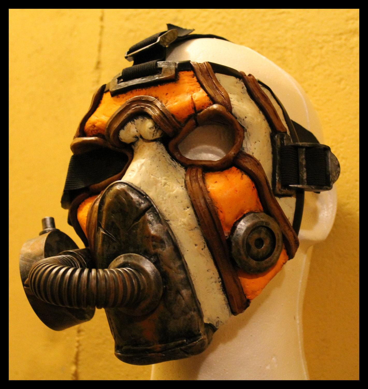 borderlands custom psycho bandit krieg cosplay mask