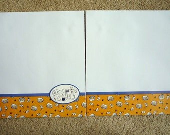 New- TWO 12 X 12 Pre-Made Scrapbook Pages The Cats Meow 3