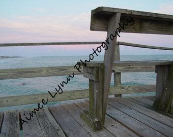 Pier view - Fine Art Photography