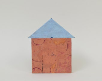 Wax House 11 - encaustic painting