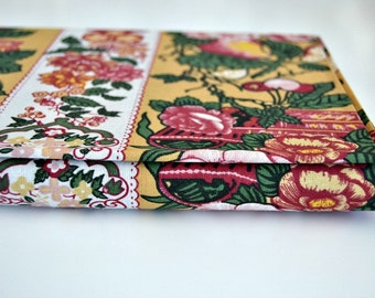 Portuguese Chintz Fabric - Flowers and Yellow