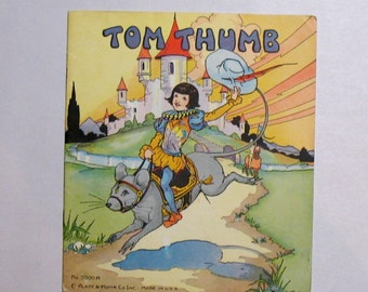 Tom Thumb childrens book.