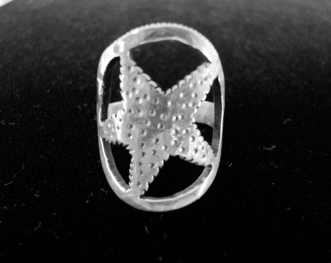 starfish ring quarter size
