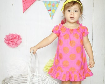 Ferry  Peasant Top or DrEss - pdf  tutorial- 3M-12Y