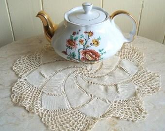 Round Crochet Doilly Spiral pattern