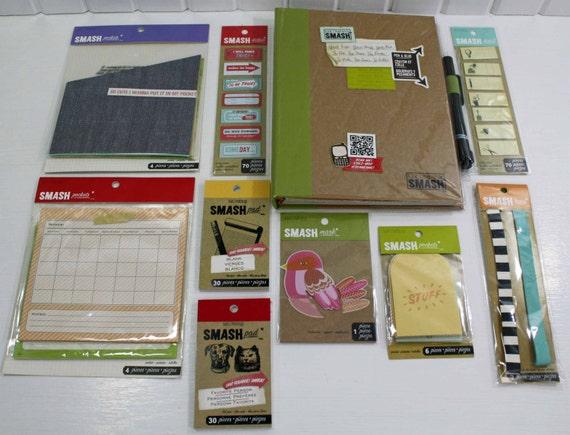 Amazon.com: K&CompanySmash Folio, Retro Blue |Smash Folio Journal Kit