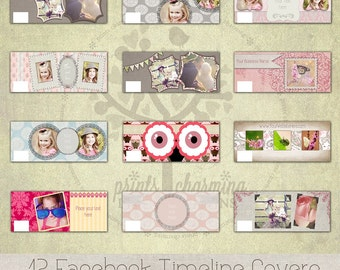 Facebook Timeline Covers - 12 different designs
