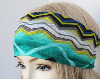 Zig Zag print    headband   great accessory for your outfit
