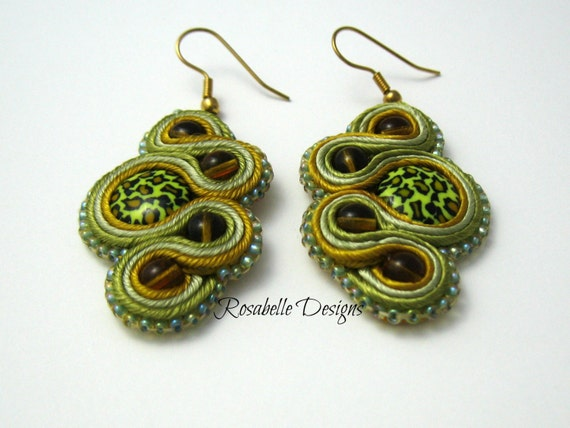 Instant Download Tutorial - Soutache Swirls