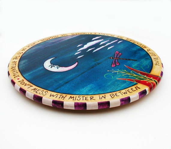 Hand Painted Lazy Susan Turntable