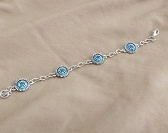 Dazzling Blues Bracelet