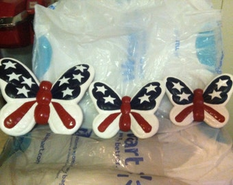 4th of July butterflies