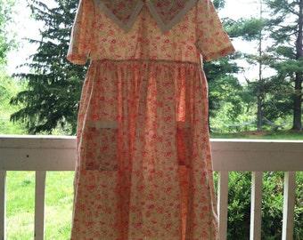 Laura Ashley floral smock dress