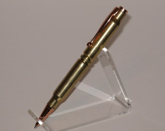 308 Cal. Rifle Cartridge Bullet Pen - Handcrafted