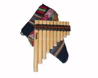 Professional  Antara Ramos Pan Flute & Case