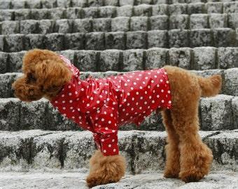 Dog Clothes RAINCOAT PDF Pattern and Recipe