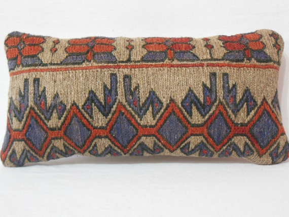 Decorative Bolster Pillow Covers : Decorative Lumbar Pillow Cover Bolster by DECOLICKILIMPILLOWS