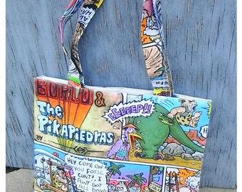 Original Comic Book Canvas Tote Bag