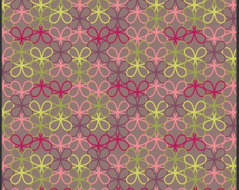 Modernology posh deep art gallery 0,5 m pure Cotton Pat Bravo fabric flowers