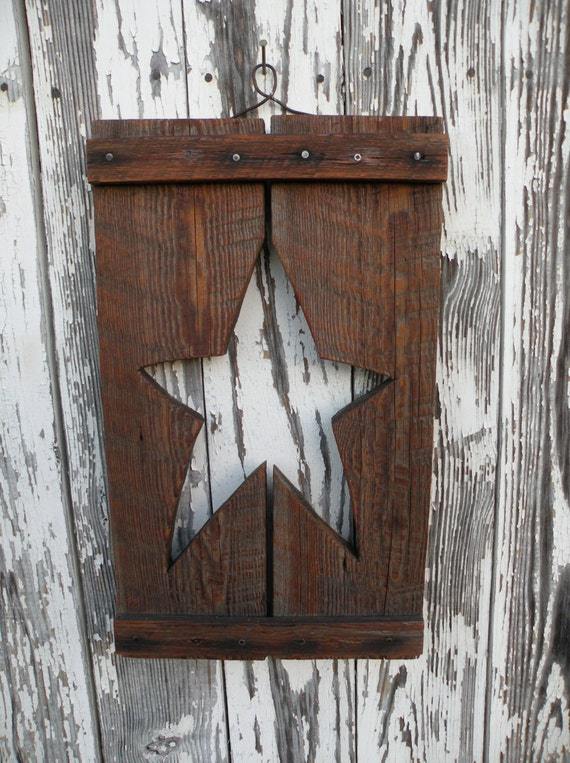 Primitive star wall decor - Stars for walls decorating ...