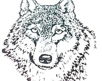 Wolf Stamp