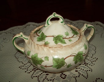 Vintage Sugar Bowl Royal Gadroon Ivy