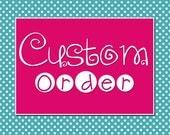 Custom Order for ams937