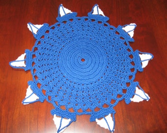 Sailboat doily