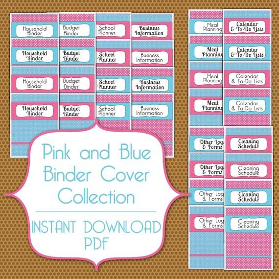 PDF Binder Cover Set Instant Download By TheDigitalCandyShop