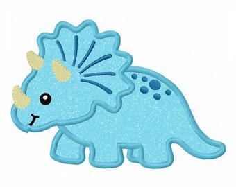 dinosaur Applique Machine Embroidery Design NO:0031