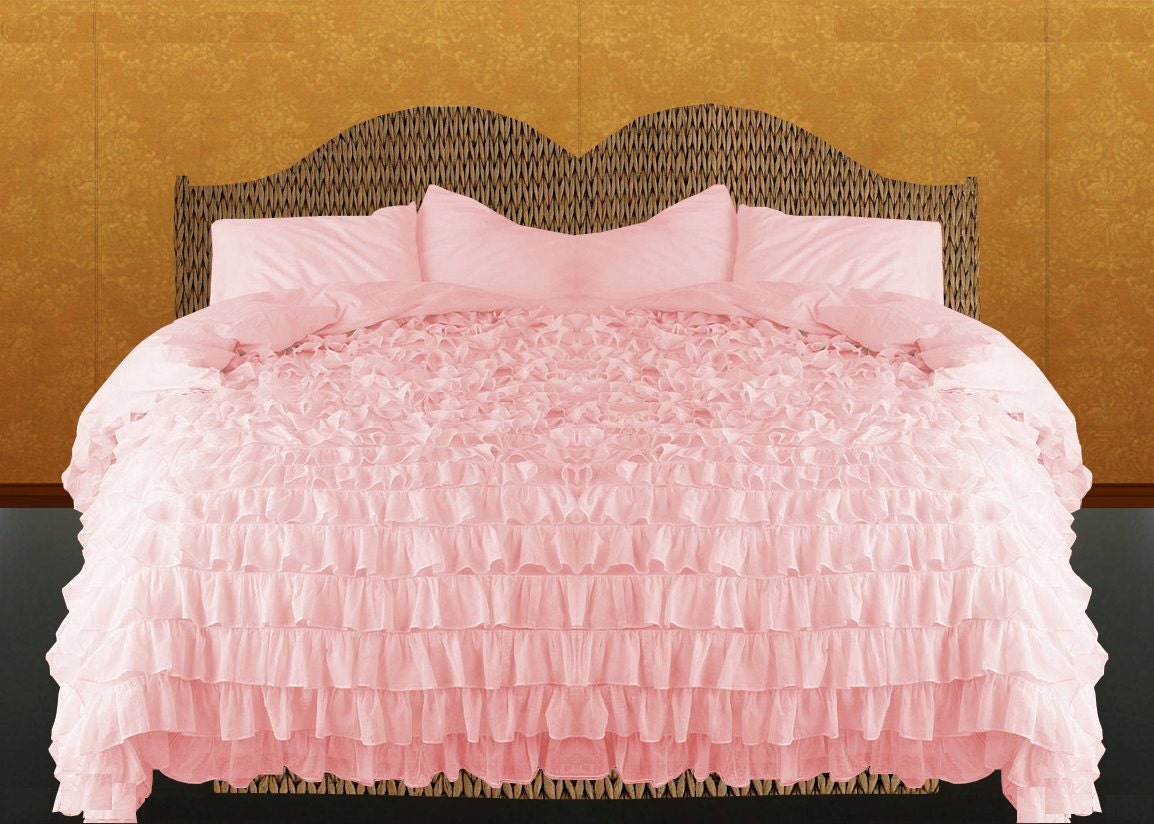 Request a custom order and have something made just for you for Frilly bedspreads