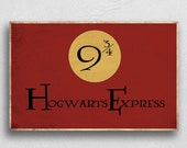 Hogwarts Express Platform. Print or Download