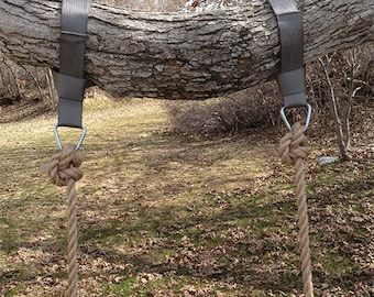 Swings etsy Wood tree swing and hanging kit