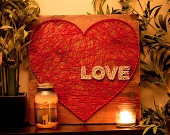 Show the Love String Art Heart