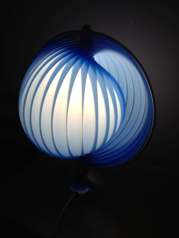 Reserved stunning verner panton moon lamp rare by 20thcenturystuff